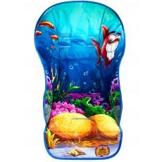 """Чехол на стульчик для кормления принт """"Friendly Fish"""""""