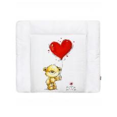 """Матрас для пеленания принт """"Heart for Teddy"""""""
