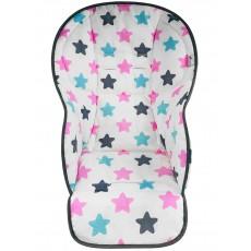 """Чехол на стульчик для кормления """"Pink Black"""""""