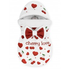 "Конверт ""Bambino"" принт ""Cherry Love"" Бязь Лето"
