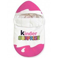"Конверт ""Kinder Surprise"" Pink Classic Auto Бязь Лето"
