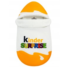 "Конверт ""Kinder Surprise"" Yellow Classic Auto Флис Деми"