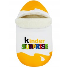 "Конверт ""Kinder Surprise"" Yellow Classic Auto Меховой Зима"