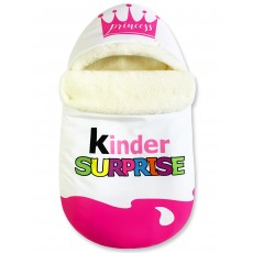 "Конверт ""Kinder Surprise"" Pink Crown Auto Меховой Зима"
