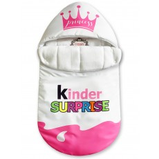 "Конверт ""Kinder Surprise"" Pink Crown Auto Флис Деми"