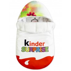 "Конверт ""Kinder Surprise"" Red Flowers Auto Флис Зима"