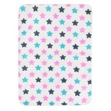 """Пеленка непромокаемая """"Pink Black"""" 65*90 см"""