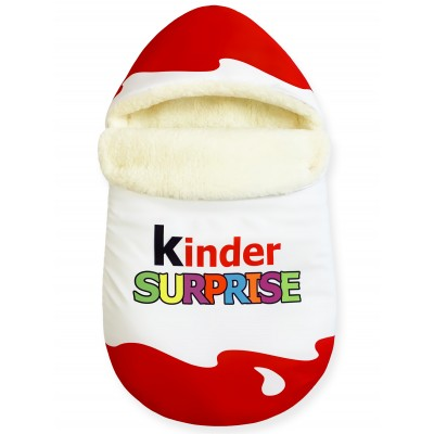 "Конверт ""Kinder Surprise"" Red Classic Меховой Зима"