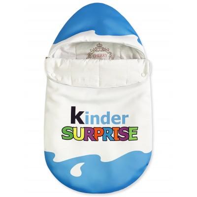 """Конверт """"Kinder Surprise"""" Blue Classic Бязь Лето"""